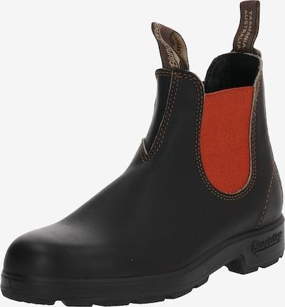 Blundstone Stiefel '1918' in dunkelbraun / rot, Produktansicht