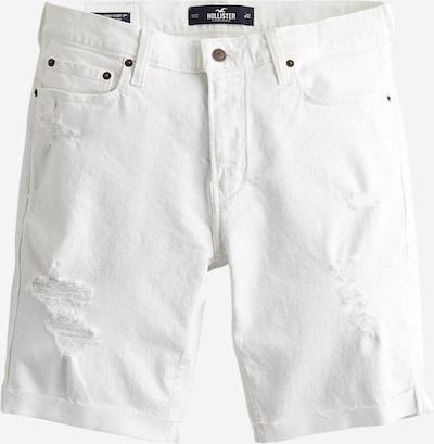 Jeans HOLLISTER pe denim alb, Vizualizare produs