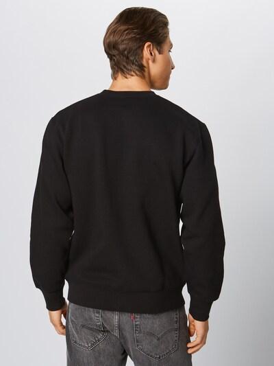 Carhartt WIP Sweatshirt 'Theory' in dunkelgrün / schwarz: Rückansicht
