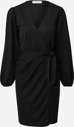 EDITED Robe 'Phyllis' en noir, Vue avec produit