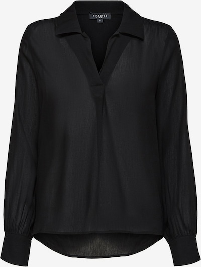 SELECTED FEMME Blouse in de kleur Zwart, Productweergave