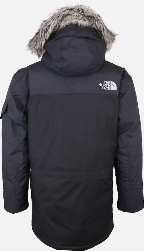 THE NORTH FACE Outdoorjas 'MURDO' in de kleur Donkergrijs: Achteraanzicht