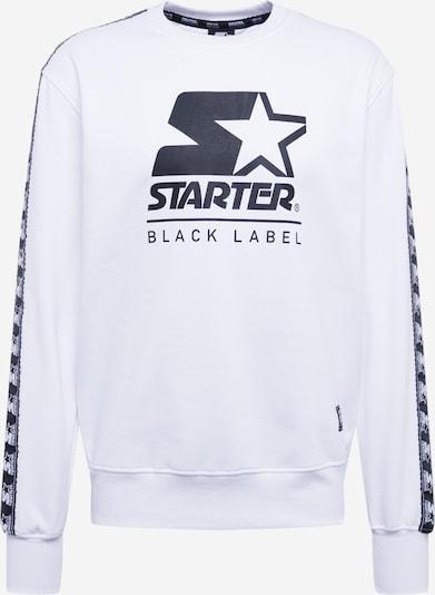 Megztinis be užsegimo 'Starter Logo Taped Crewneck' iš Starter Black Label , spalva - balta, Prekių apžvalga