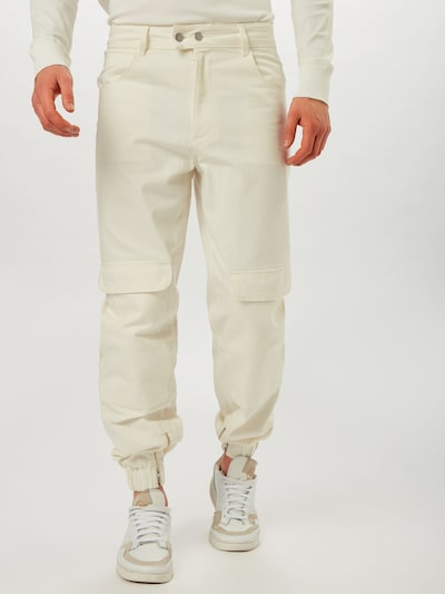 NU-IN Jeans in creme / offwhite, Modelansicht