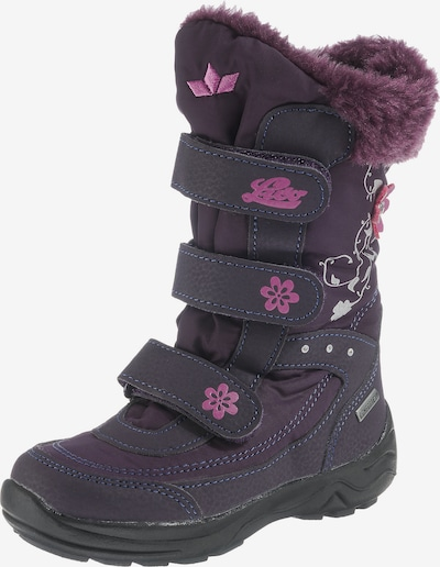 LICO Boots 'Mary' in dunkellila, Produktansicht