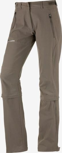 VAUDE Wanderhose  'Farley Stretch Capri T-Zip II' in khaki, Produktansicht