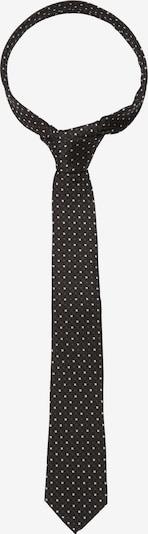 SEIDENSTICKER Stropdas 'Schwarze Rose' in de kleur Zwart / Wit, Productweergave
