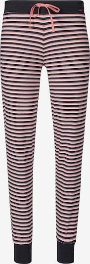 Skiny Pantalon de pyjama en rose / noir, Vue avec produit