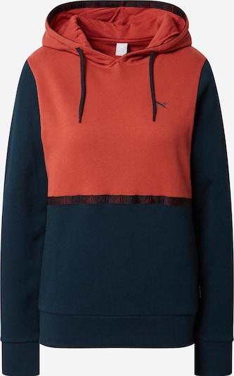 Iriedaily Sweatshirt 'Hopi' in blau / koralle, Produktansicht