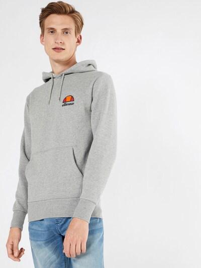 ELLESSE Bluzka sportowa 'Toce' w kolorze granatowy / nakrapiany szary / pomarańczowy / czerwonym, Podgląd na modelu(-ce)