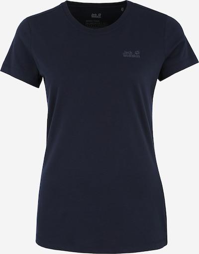 JACK WOLFSKIN T-shirt fonctionnel 'Crosstrail' en bleu nuit, Vue avec produit