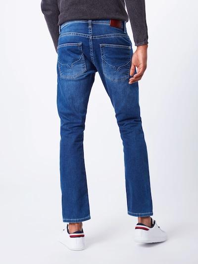 Pepe Jeans Džinsi 'Track' pieejami zils džinss: Aizmugures skats