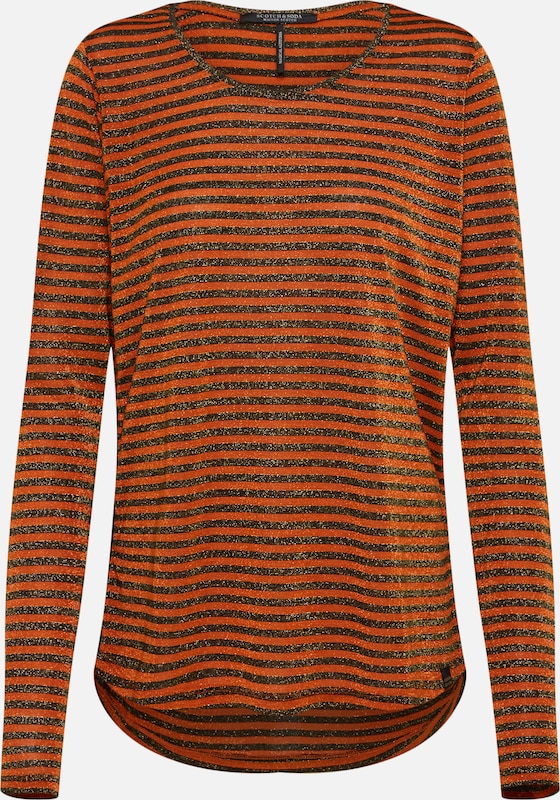 shirt Scotchamp; T OrangeNoir Soda En ukOXZPi