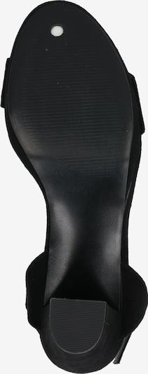 ABOUT YOU Sandales à lanières 'Christin' en noir: Vue de dessous