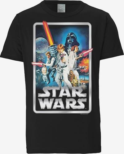 LOGOSHIRT T-Shirt 'Krieg der Sterne' in mischfarben / schwarz, Produktansicht