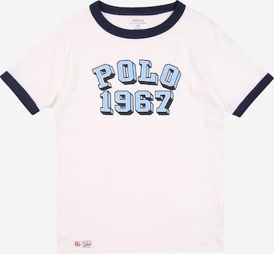 POLO RALPH LAUREN Tričko - námořnická modř / světlemodrá / bílá, Produkt