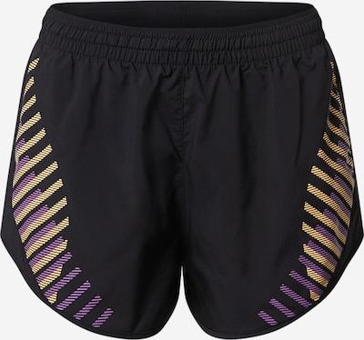NIKE Športové nohavice 'Tempo Luxe' - žltá / fialová / čierna, Produkt