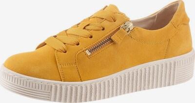 GABOR Sneakers laag in de kleur Mosterd, Productweergave