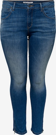 ONLY Carmakoma Jeans in de kleur Blauw denim, Productweergave