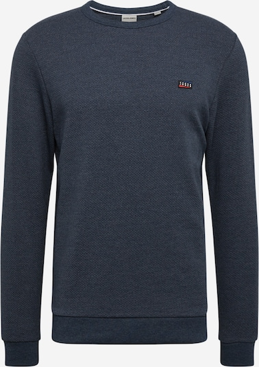 JACK & JONES Sweatshirt 'JUAN' in blaumeliert, Produktansicht