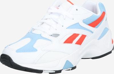 REEBOK Damen - Sneaker 'AZTREK 96' in blau / orange / weiß, Produktansicht