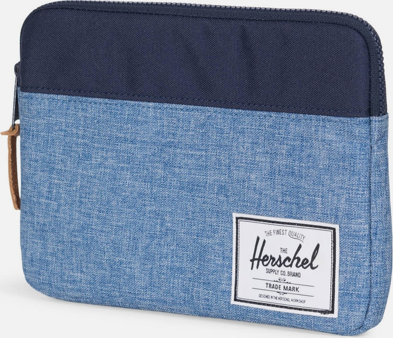 Herschel iPad Air Schutzhülle 'Anchor Sleeve, iPad Air, Peacoat/Limoges Crosshatch'