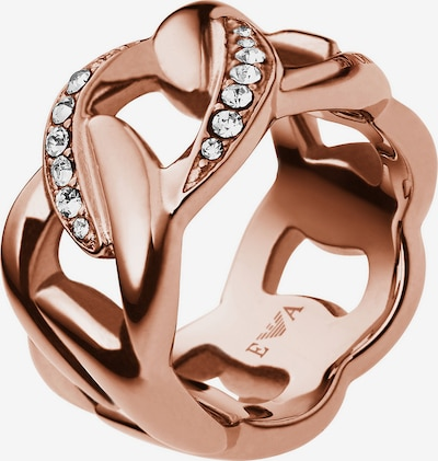 Emporio Armani Ring in rosegold, Produktansicht
