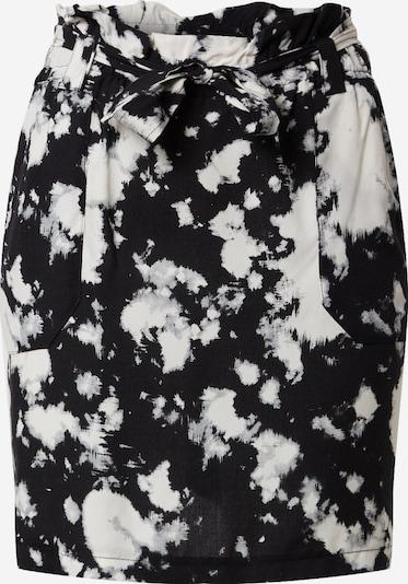 Dorothy Perkins Rock 'TIE DYE WAIST MINI SKIRT' in schwarz / weiß, Produktansicht