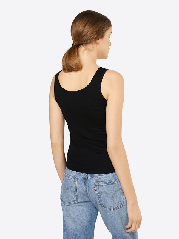 Urban Classics Jersey Top 'Ladies 2-Pack Basic Stretch Top'