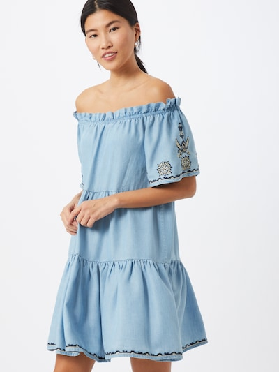 Pepe Jeans Kleid 'SASHA' in blau, Modelansicht