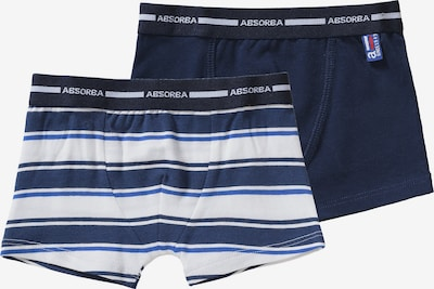 ABSORBA Boxershorts in blau / weiß, Produktansicht