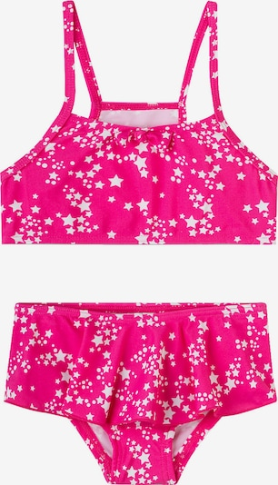 SANETTA Bikini in neonpink: Frontalansicht