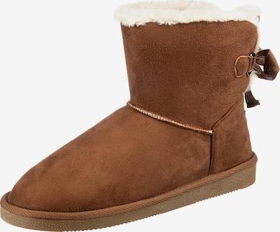 JANE KLAIN Snowboots in creme / umbra, Produktansicht