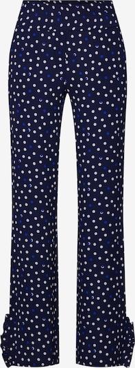 Another Label Pantalon 'Thronson' en bleu / blanc, Vue avec produit