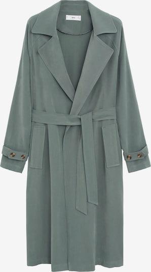MANGO Přechodný kabát - zelená, Produkt