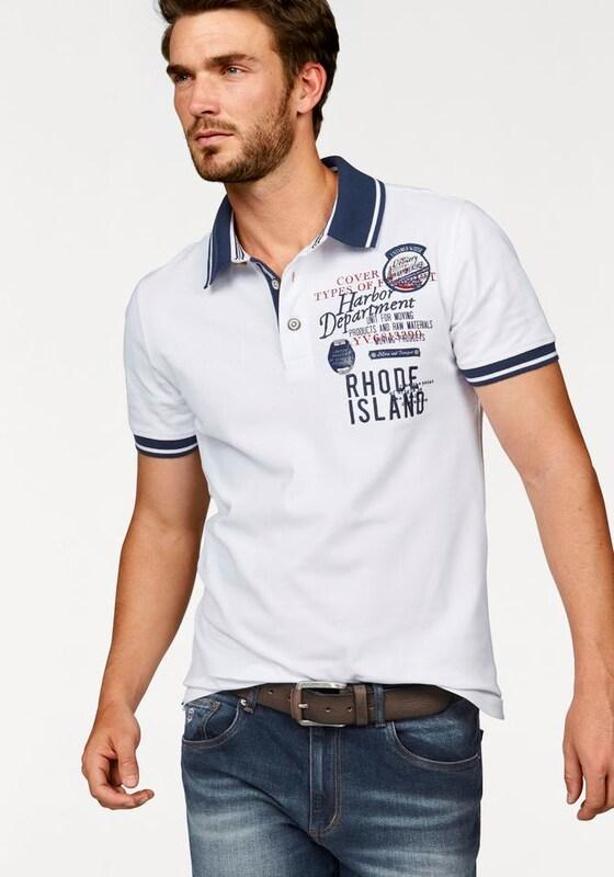 RHODE ISLAND Poloshirt 'Piqué Qualität'