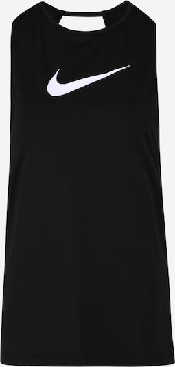 Sportiniai marškinėliai be rankovių iš NIKE , spalva - juoda / balta, Prekių apžvalga