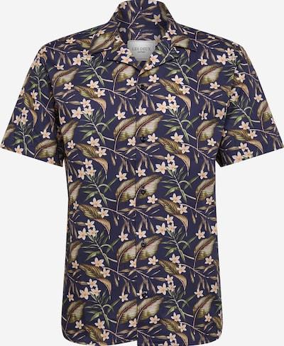 Les Deux Hemd 'Latif' in navy / mischfarben, Produktansicht