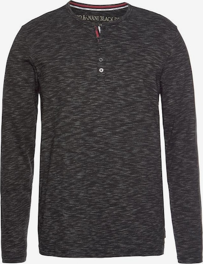 BRUNO BANANI Shirt ' Henleystil' in grau / anthrazit, Produktansicht