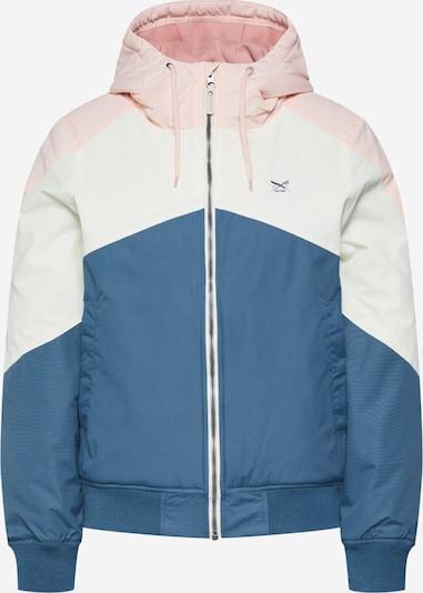 Iriedaily Veste fonctionnelle 'Tri Colore Jacket' en bleu / rosé / blanc cassé, Vue avec produit