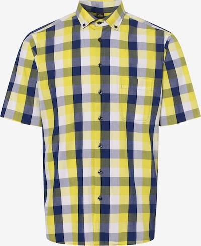 Nils Sundström Hemd ' ' in blau / gelb, Produktansicht