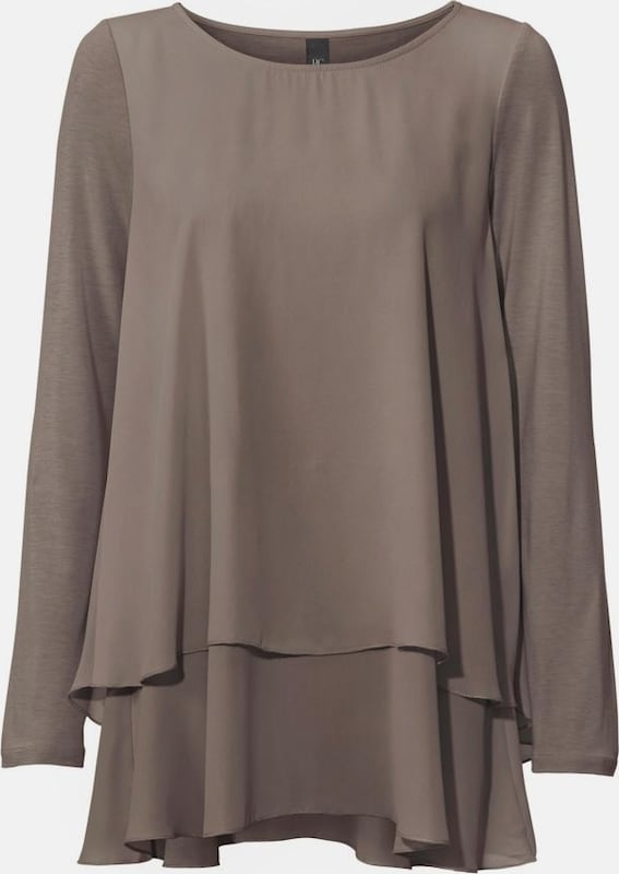 Bc Best Connections By Heine Crew-neck Shirt In Lay-look