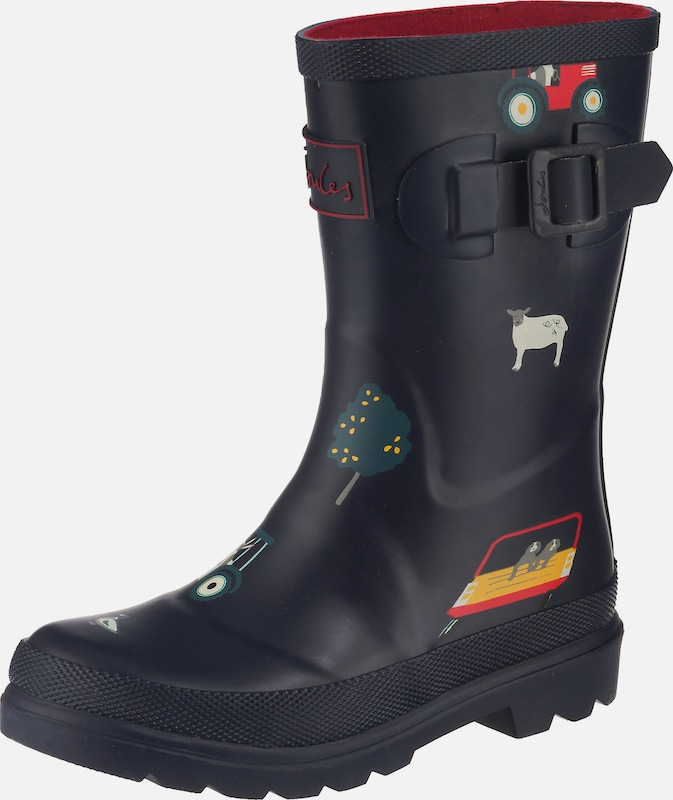 Tom Joule Gummistiefel 'Welly' in navy / mischfarben, Produktansicht