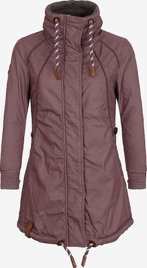 naketano Female Jacket Zebratwist in rostbraun / eosin, Produktansicht