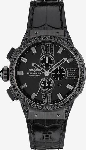 HAEMMER Analog Watch in Black
