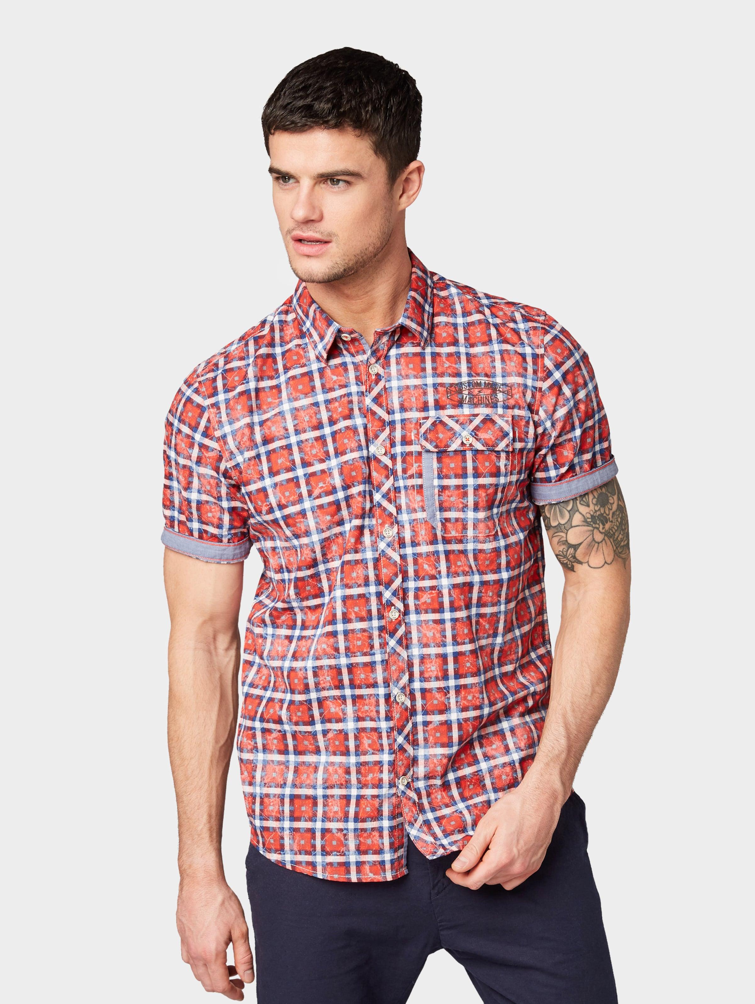 Tom Weiß In BlauCranberry Hemd Tailor stChQdr