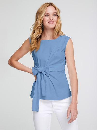 heine Blouse in de kleur Blauw, Modelweergave