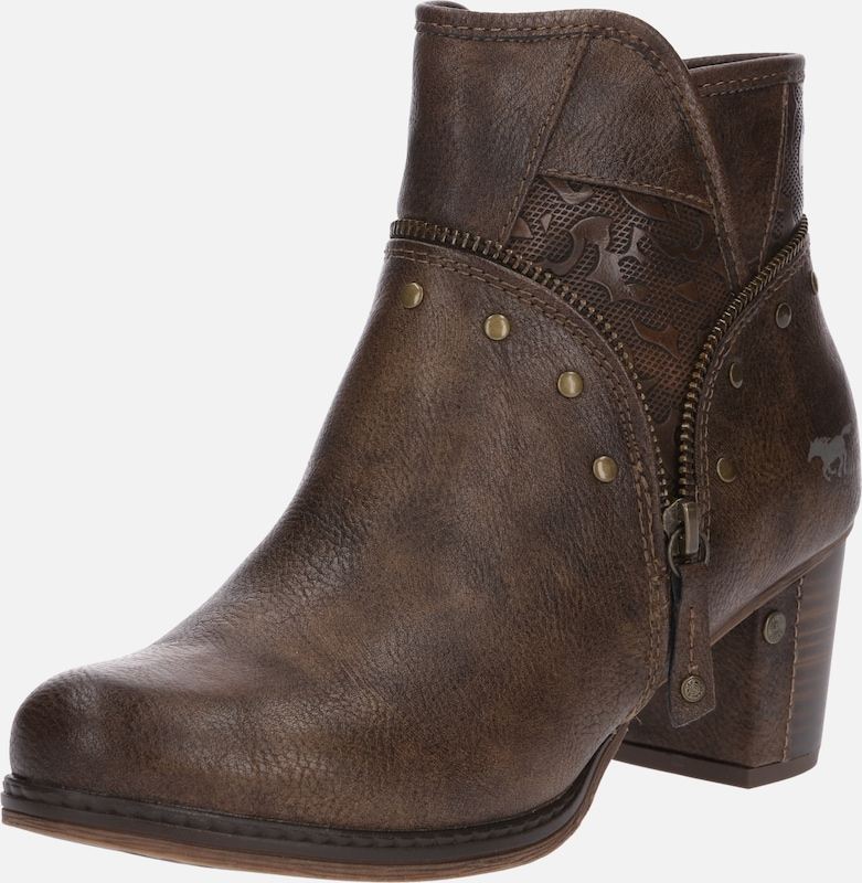 Bottines En Marron En Mustang Bottines En Marron Marron Mustang Bottines Mustang jMGqSzpVLU