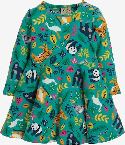 frugi Jerseykleid in türkis / mischfarben, Produktansicht
