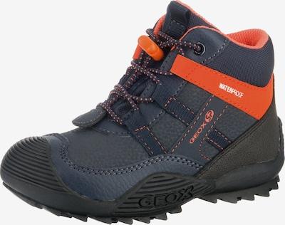 GEOX Schuhe 'Atreus' in nachtblau / orangerot, Produktansicht